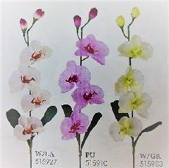 1本¥138造花(ニュー胡蝶蘭・単色36本入り)2682
