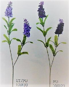 1本¥138造花(ラベンダー×2・単色36本入り)124