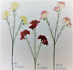 1本¥138造花(カーネーションスプレー・単色36本入り)2670