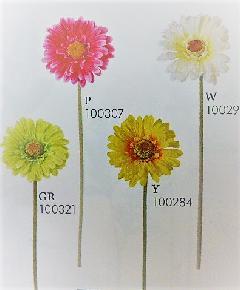 1本¥138造花(ガーベラ×1・単色36本入り)131