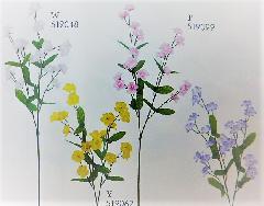 1本¥138造花(ダブルワスレナ・単色36本入り)2933