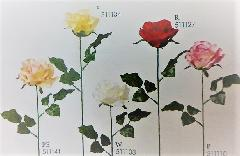 1本¥138造花(プリティーローズ・単色36本入り)2315