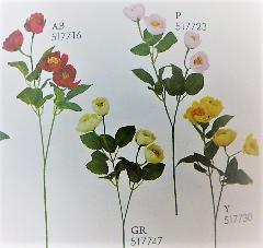 1本¥138造花(ビビアンローズ・単色36本入り)2808