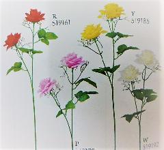 1本¥138造花(ローズスプレー×2・単色36本入り)2936
