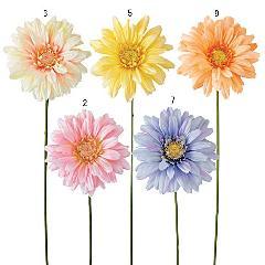 サイズの大きい造花(ビックガーベラ・花径18cm)FLSP1890