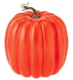 かぼちゃ・ハロウィンパンプキン(パンプキン18cm・スチロール製)VF1238