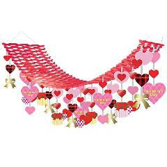 バレンタインハンガー(5)全長180・幅45cmDEHA9968