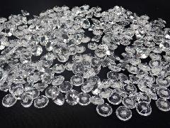 アクリルクリスタルアイス(ダイヤモンド型クリア1cm約340粒)