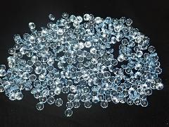 アクリルクリスタルアイス(ダイヤモンド型ブルー1cm約340粒