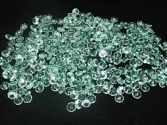 アクリルクリスタルアイス(ダイヤモンド型グリーン1cm約340粒