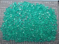 アクリルアイス・ディスプレイアイス・イミテーションアイス・透明石(S・約1cm)エメラルドグリーン250g約330粒