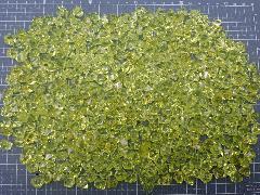 アクリルアイス・ディスプレイアイス・イミテーションアイス・透明石(S・約1cm)イエロー250g約330粒