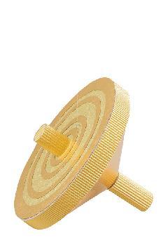 ジャンボコマ・こま金色(スチロール製)22.5cmDE1438「コンビニ後払い有り」