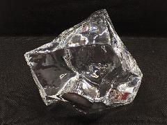 イミテーションアイス・透明氷(ロックアイス約8cm)アクリル製