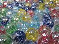 水玉ビー玉(5色アソート)17mΦ×130粒
