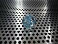 水玉(ブルー)17mmΦ