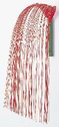 正月飾り・しだれ水引飾り(赤/白)全高60cmDE0565