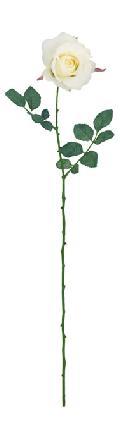 ブライダル用造花(ミッシェルローズ・クリーム・花径9cm)FLS713