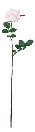 ブライダル用造花(ミッシェルローズ・ソフトピンク・花径9cm)FLS713