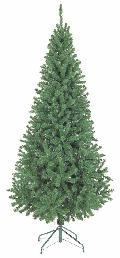 卸販売業務用クリスマスツリー(スリム・グリーンh210・幅100cm)TXM2012