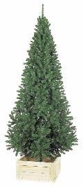 卸販売業務用クリスマスツリー(スリム・グリーンh240・幅115cm)TXM2013
