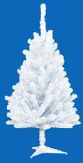 卸販売業務用クリスマスツリー(スリム・ホワイトh90・幅50cm)TXM2036
