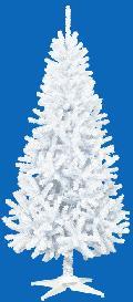 卸販売業務用クリスマスツリー(スリム・ホワイトh180・幅85cm)TXM2039