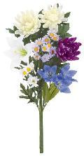 メモリアルフラワー(仏花花束ホワイト43cm・1束)FLS5229