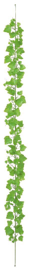 箱単位ポリ製造花つたフジグレープガーランド(ライトグリーン)24本入りLEG115[コンビニ後払いのみ]