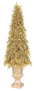 80cmゴールドシダーツリー(グリッター)DE1285L