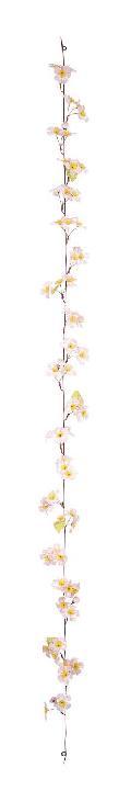 造花桜ガーランド(全長175cm花径5cm12本)FLG109