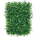 卸価格壁面造花ウォールマット・リーフマット(30cm幅20cmボックスウッド)LEMT7490