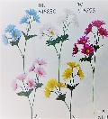 卸販売造花(デージー×6輪単色36本入り)2680
