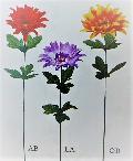 卸販売造花(ダリア×1輪・単色48本入り)2997