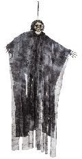 ハロウィンディスプレイ(ハンギングスカルh90cm)DE1416