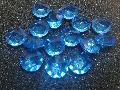 アクリルアイス(ダイヤ・ブルー)約2�×250g(約72粒入)