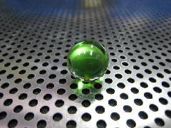 ビー玉・ガラス玉クリアカラー15mmグリーン