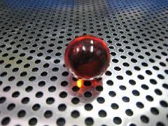 ビー玉・ガラス玉クリアカラー17mmレッド