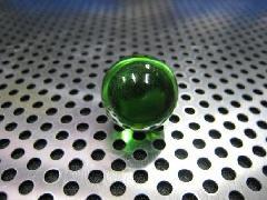 ビー玉・ガラス玉クリアカラー17mmグリーン