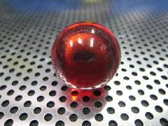 ビー玉・ガラス玉クリアカラー25mmレッド