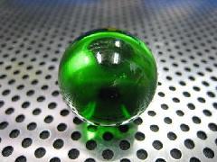 ビー玉・ガラス玉クリアカラー25mmグリーン