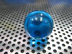 ビー玉・ガラス玉クリアカラー25mmブルー
