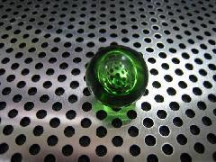 バブルマーブル17mmグリーン