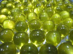 ビー玉・ガラス玉クリアカラー12.5mm×300粒 イエロー