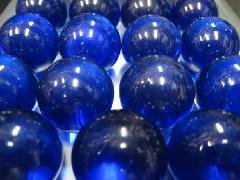 ビー玉・ガラス玉クリアカラー25mm×1250粒 コバルト
