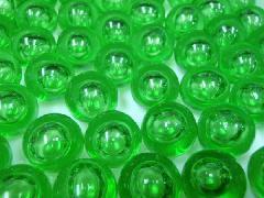 バブルマーブル17mm×130粒 グリーン