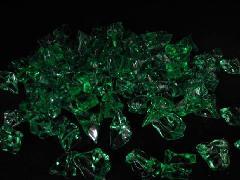 アクリルアイス・イミテーションアイス・ディスプレイアイス(M)約2.5�p×250g(約80粒入) グリーン