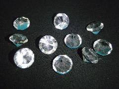 シャイニーダイヤモンド(L・1.1�pФ)10粒入り クリスタル製