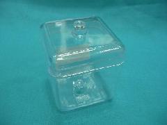 透明ケース(70角ポット・h9.5�p)スチロール製