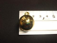 メッキボール20mm(ゴールド)ばら売り(花笠)